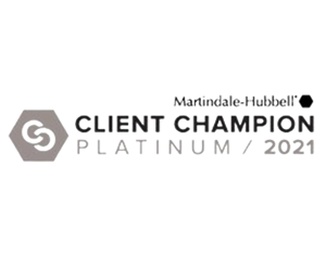 Martindale-Hubbell Client Champion 2021